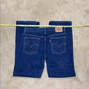 Levi's red tab women's boot cut 515